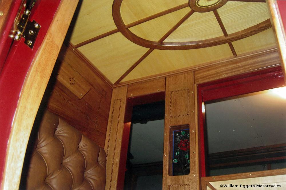 Bill Eggers: 1865 Wells Fargo Stagecoach Interior View
