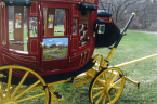 Bill Eggers: 1865 Wells Fargo Stagecoach Right Side