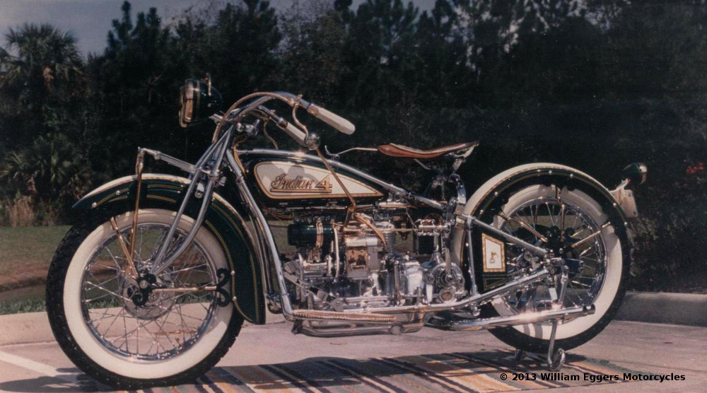 World Renowned Custom 1930 Indian Motorcycle William