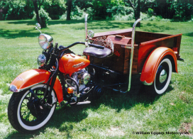 Bill Eggers: 1953 Custom Harley Servi-Car Pickup