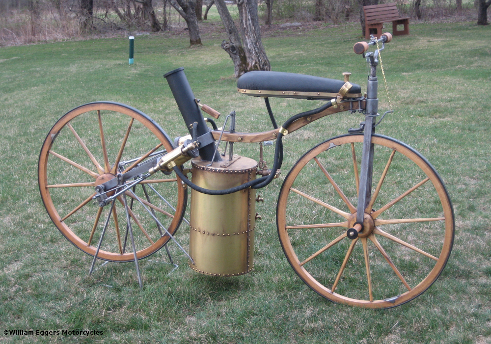 1867 Roper Steam Velocipede Replica Right William Eggers