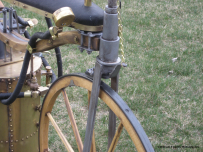 Bill Eggers: 1867 Roper Steam Velocipede Replica