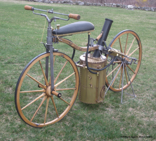 1867 Roper Steam Velocipede Replica Left Side