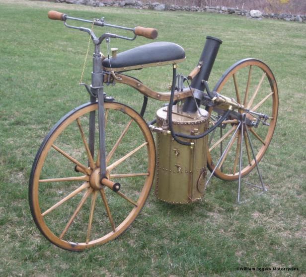 1867 Roper Steam Velocipede Replica William Eggers
