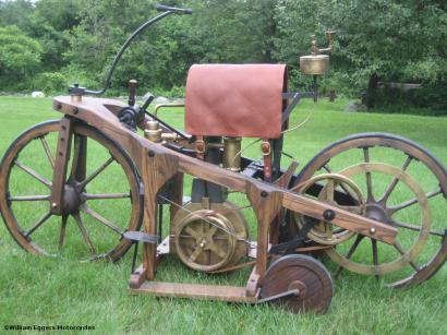 Bill Eggers: 1885 Daimler Reitwagen Replica
