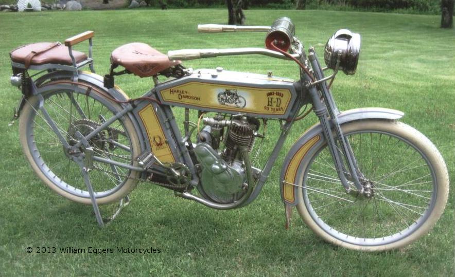 Bill Eggers: 1913 Harley Davidson