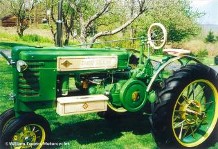 Bill Eggers: Custom John Deere Tractor