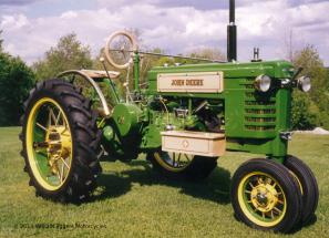 Bill Eggers: 1940s John Deere Custom Tractor