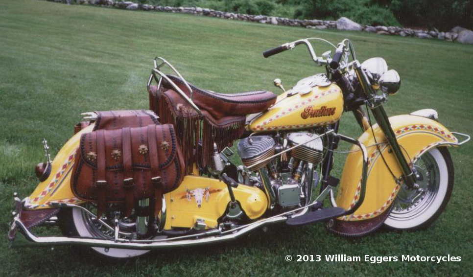 1950 Indian Chief Motorcycle William Eggers Motorcycles