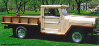 Bill Eggers: 1953 Jeep Willys Side View