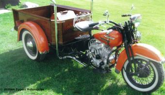 Bill Eggers: 1953 Custom Harley Servi-Carpickup