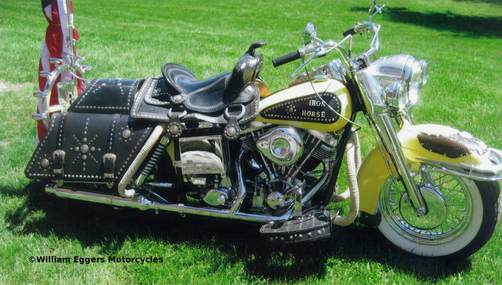 """Antique Indian Motorcycles For Sale ... Harley Davidson Custom """"Iron Horse"""" 