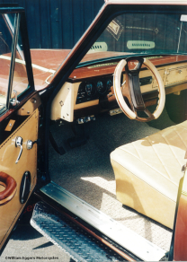 Bill Eggers: 1980 Jeep Custom Flatbed Pickup Interior