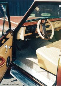 Bill Eggers: 1980 Jeep Custom Flatbed Pickup Interior