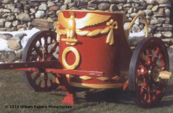 Bill Eggers: Red Ben Hur Chariot