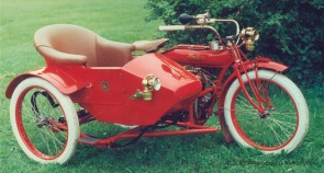 Bill Eggers: 1913 Indian Twin with Sidecar