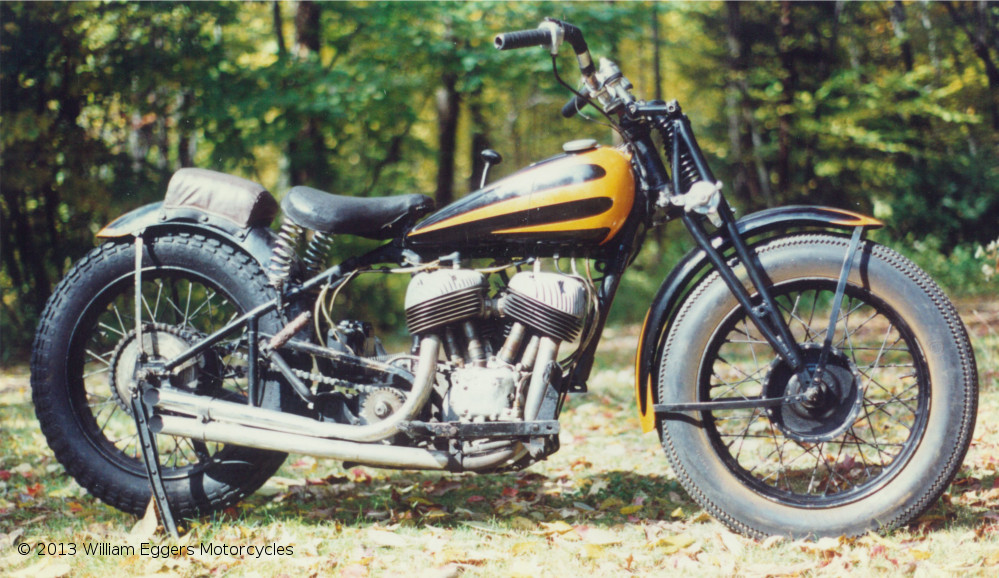 Bill Eggers: 1939 Indian Scout RacerFrom Right