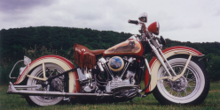 Bill Eggers: 1947 Harley Davidson Knucklehead