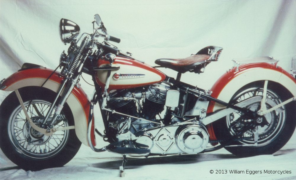 1948 Harley Davidson Pan Head William Eggers Motorcycles