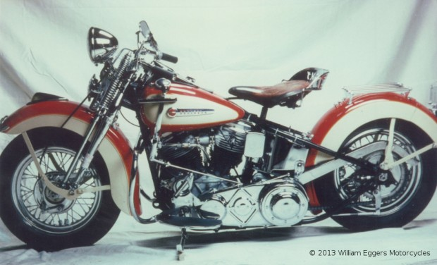 Bill Eggers: 1948 Harley Davidson Pan Head