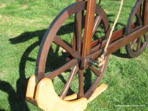 Bill Eggers: Image of 1790 Celerifere Replica - Front Wheel