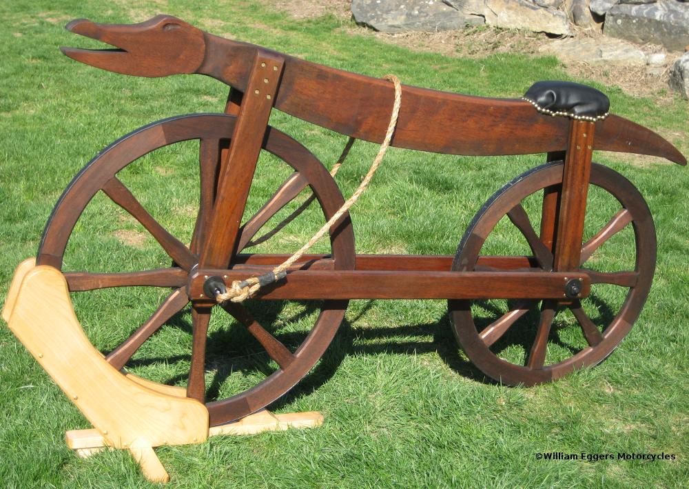1790 Celerifere Replica William Eggers Motorcycles