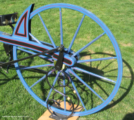 Bill Eggers: Image of 1839 Macmillan Replica - Rear Wheel