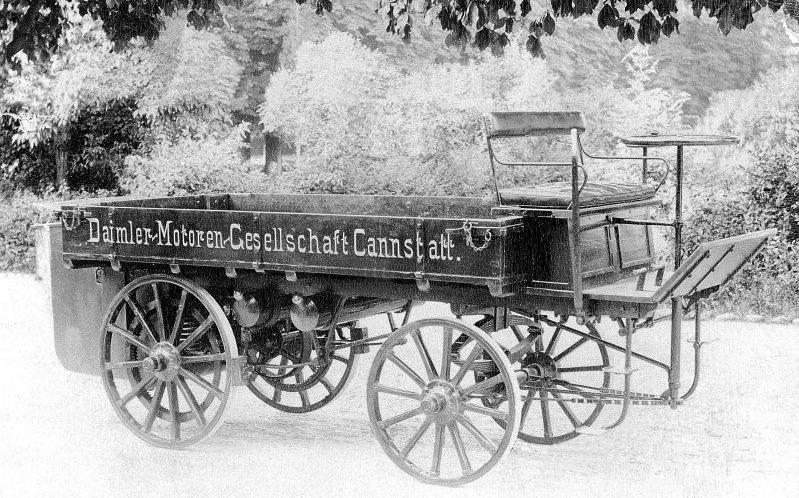 Photo of 1896 Daimler Truck Replica