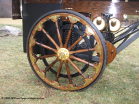 Image of 1896 Daimler Truck Wheel