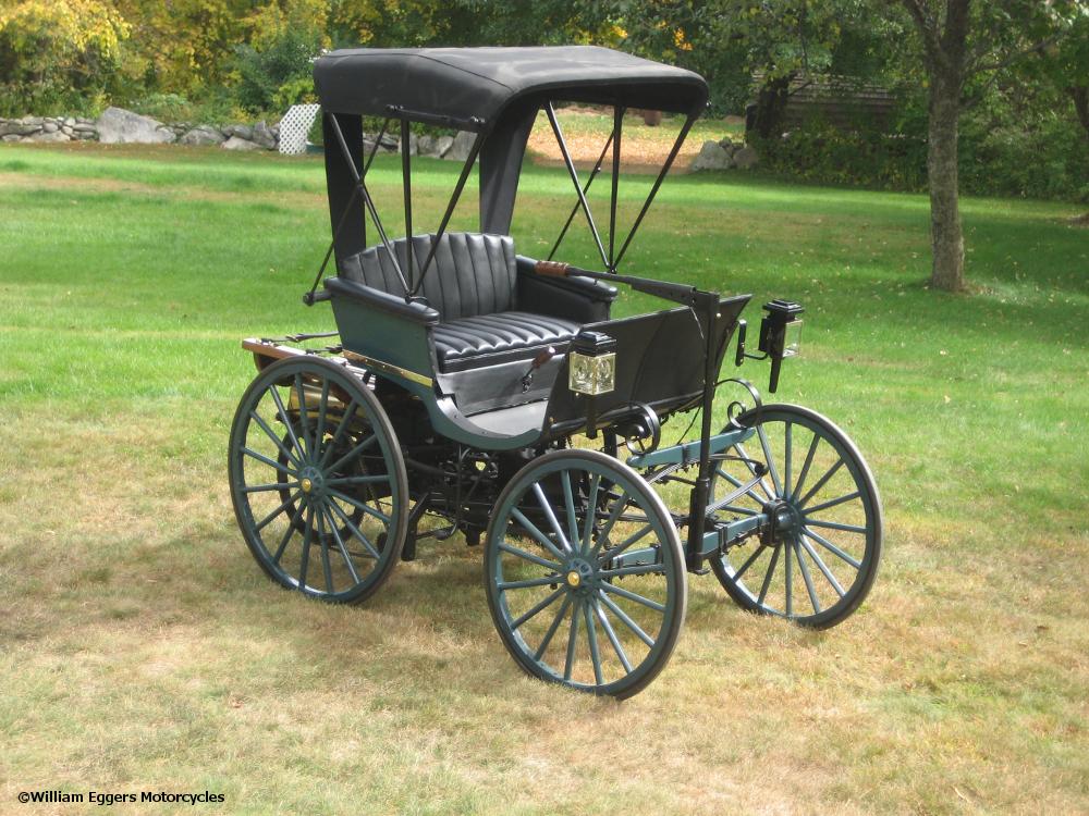 1893 Duryea Automobile Replica William Eggers Motorcycles