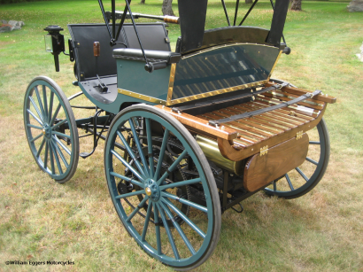 photo of 1893 Duryea Rear View Luggage Rack