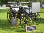 1886 Daimler Carriage at Litchfield Inn