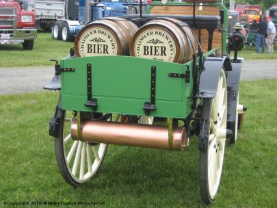 1898 Daimer Truck Bier Barrels